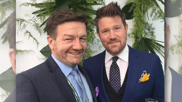 Lawrence Mooney and Eddie Perfect