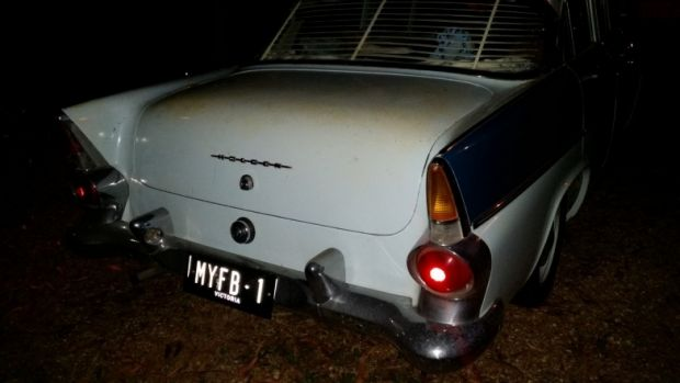 A vintage 1960 FB Holden sedan was stolen in Ringwood North on Saturday.