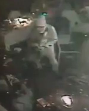 An image, reportedly of one of the gunmen involved in the attack at the Istanbul nightclub.