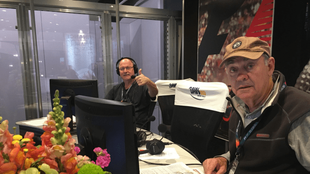 Ross and John LIVE at the 2017 F1 GP.