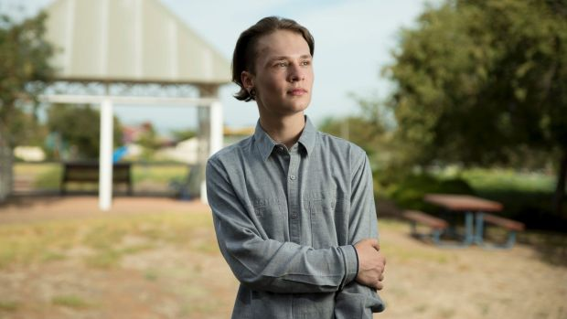 Josh Sandman, 19, is one of 659,000 young Australians who are either unemployed or underemployed.