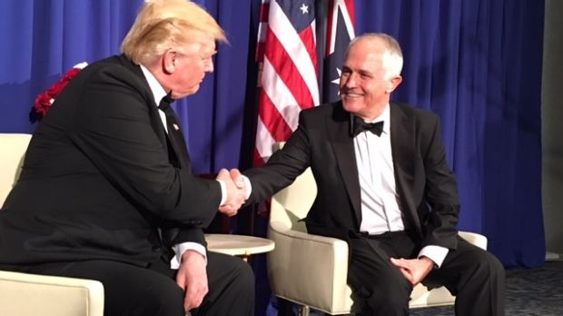 Image result for images of turnbull and trump