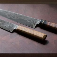Damascus Kitchen Knives Small Sinks Why It Pays To Invest In An Australian Handmade Knife From Tharwa Valley Forge With Blade Patterns That Resemble Flowing Water