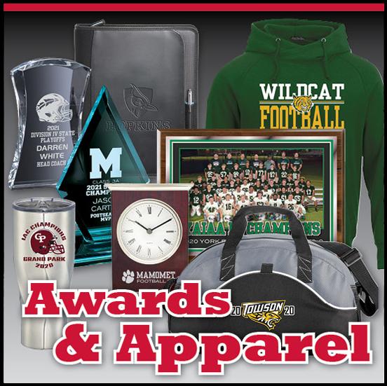 football team championship awards
