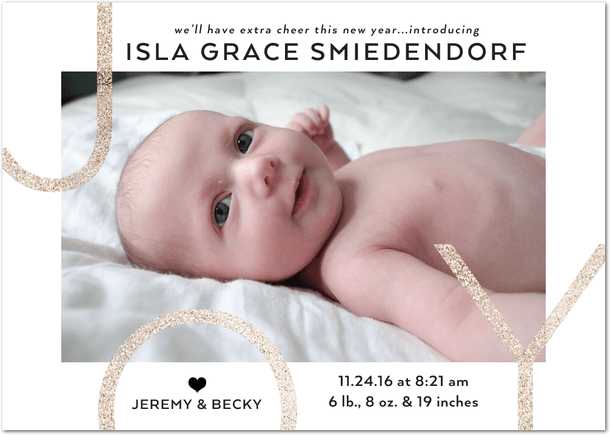 PregnancyBaby Archives Smiedendipity – New Years Birth Announcements