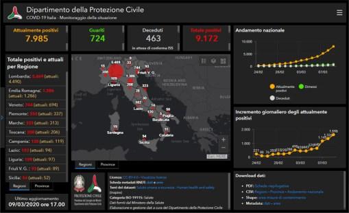 Mappa Covid-19 ITA