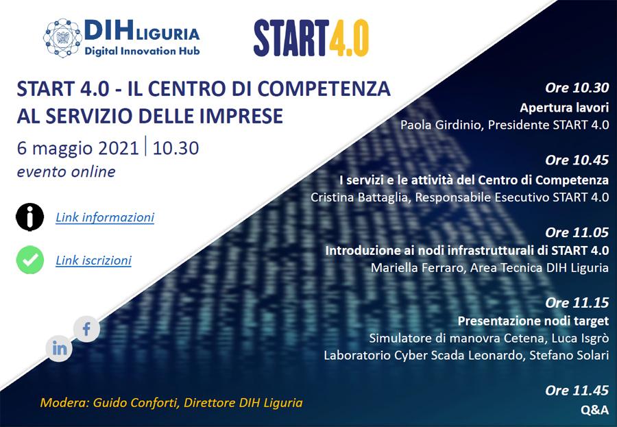 START 4.0 – Il Centro di Competenza al servizio delle imprese