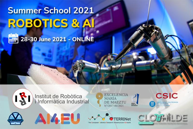 """Opportunità formativa gratuita: """"Robotics & AI Summer school 2021"""""""