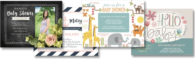 Online Baby Shower Invitation Maker For A Child S First Gift