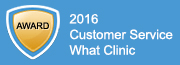Smilecare dentist winner of 2016 What Clinic Awards for dental services