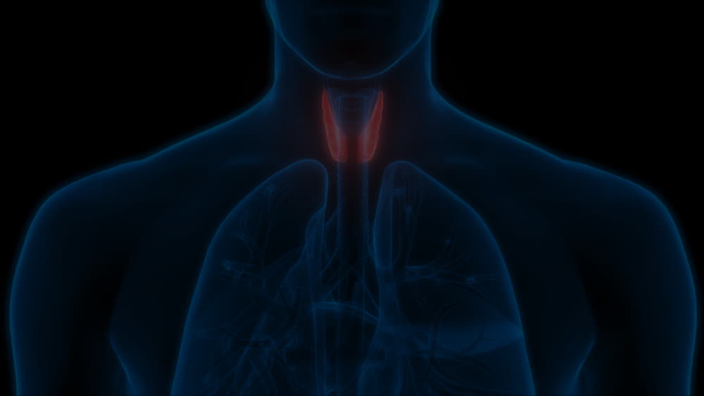 What is thyroid salty mouth?