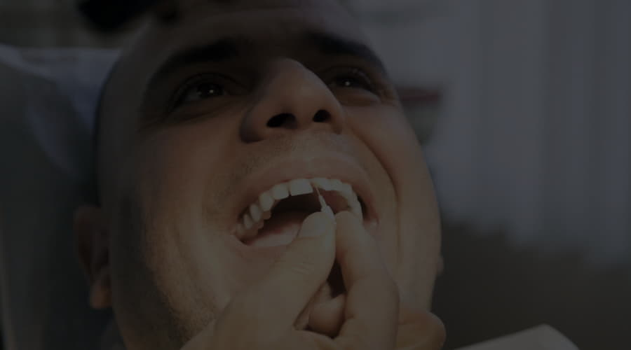 What should we do if there is a blow to the teeth?