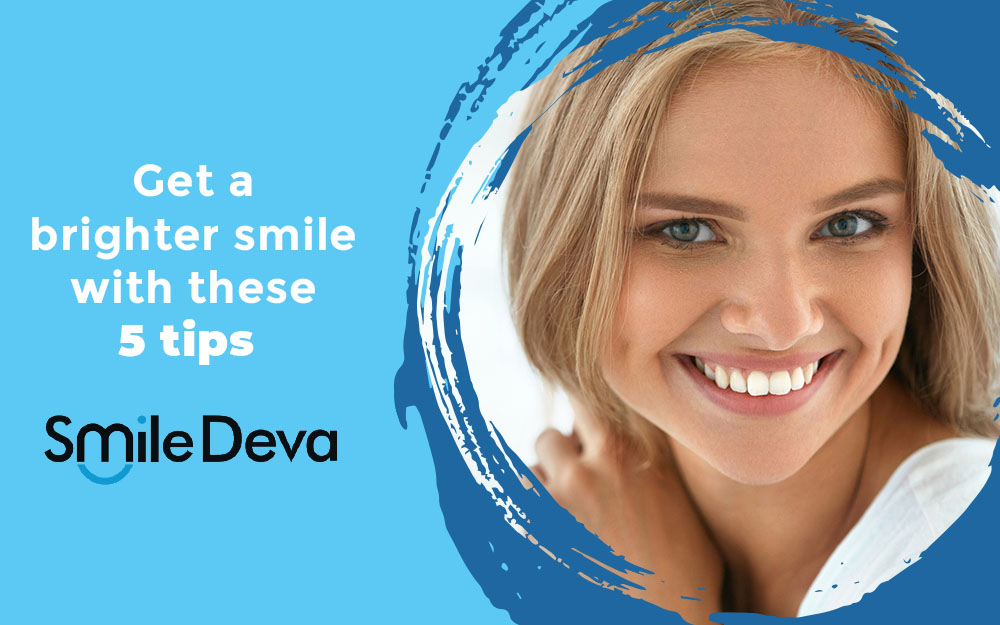 Get a brighter smile with these 5 tips