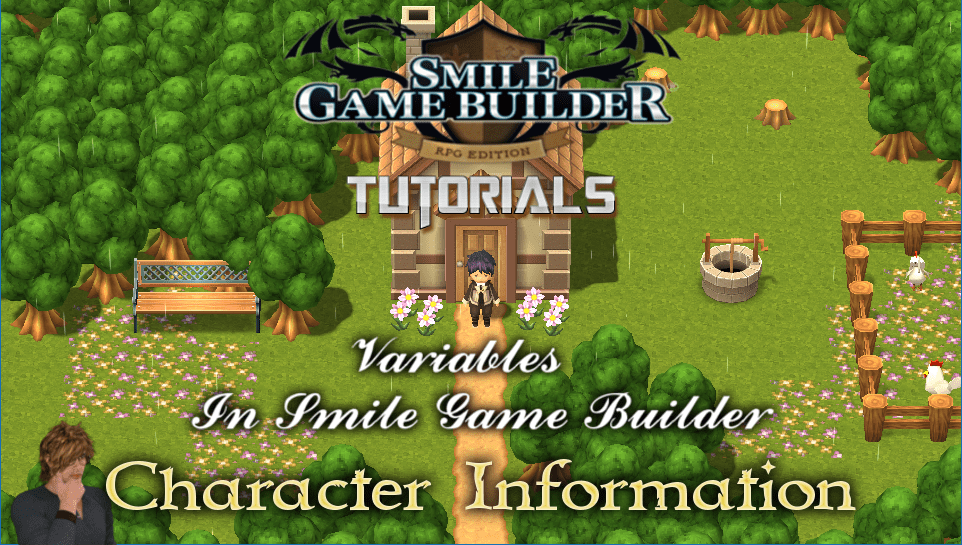 Variables In Smile Game Builder – Part 4: Character Information