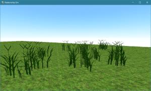 Smile Game Builder Grass Procedural Experiment in Blender