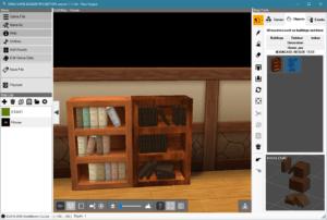 Bookshelf-Books Models 1
