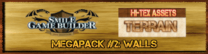 Hi-Tex Assets Megapack Vol. 2 - Terrains: Walls
