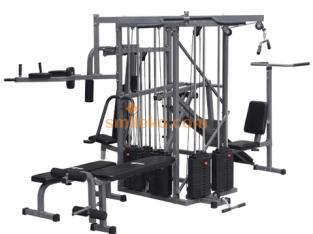 Ten station multi gym body builder