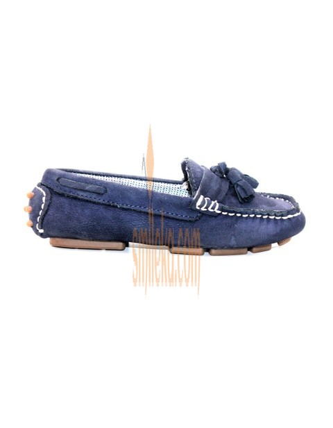 908c17acc724 Zara Kids Footwear Loafers With Tassels – Navy Blue
