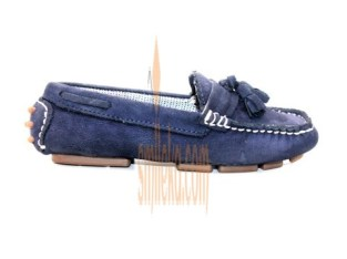 Zara Kids Footwear Loafers With Tassels – Navy Blue