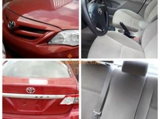 Toyota Corolla 2013 (TOKUNBO)