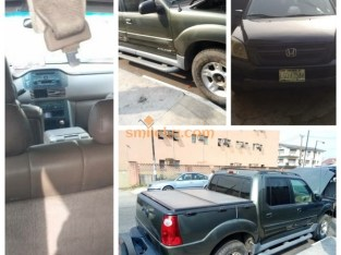Honda Pilot Registered @ Mushin,Lagos ( 2004 Model )