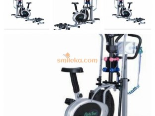 Orbitrac Bike with Stepper, Twister & Massager ( We also Deliver @ Your Location )