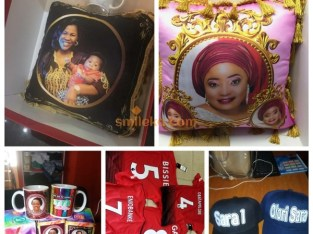 Think personalized gifts and personal style that celebrate team spirit, family reunion or just a way to promote a cause contact Gabriel tosh cre8tions