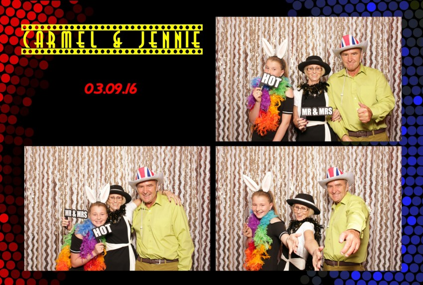 Southport Open air photo booth