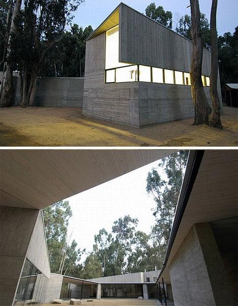 Ultramodern Concrete Fortress Home