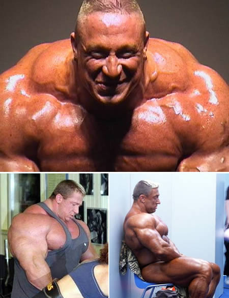 Markus Ruhl: some of the biggest shoulders in history