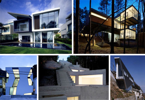 Uncanny Ultramodern Homes