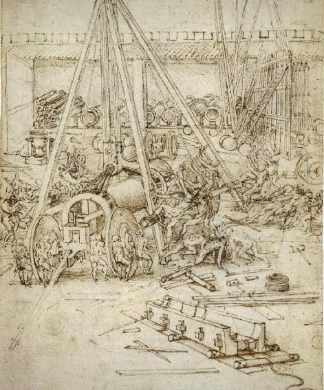 An Artillery Park, c. 1487