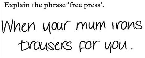 "Explain the phrase ""Free Press""."