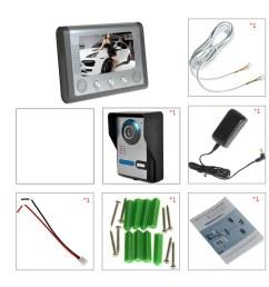 household wiring doorbell [ 1100 x 1100 Pixel ]