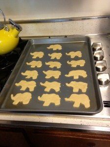 Lil Elephant Sugar Cookies - 7