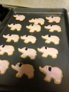 Lil Elephant Sugar Cookies - 11
