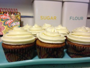 Carrot Cake Cupcakes - 19