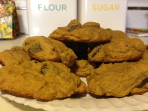 Pumpkin Chocolate Chip Cookies - 17