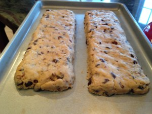Chocolate Chip Coconut Biscotti - 13