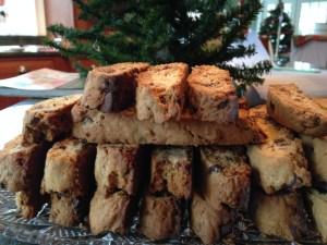 Chocolate Chip Coconut Biscotti - 18