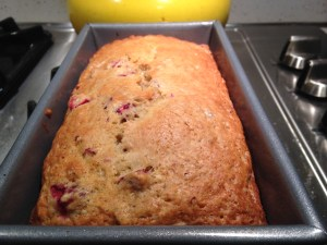 Cranberry Nut Bread - 11