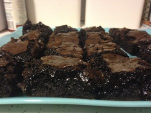 Sea Salt Brownies - 16