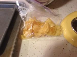 Chocolate Chip Potato Chip Cookies - 22