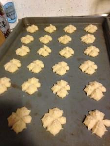 Cream Cheese Spritz Cookies - 8