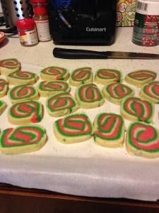 Christmas Roll Sugar Cookies - 10