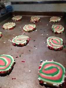 Christmas Roll Sugar Cookies - 11