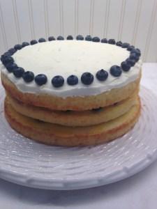 Lemon Blueberry Layer Cake - 23