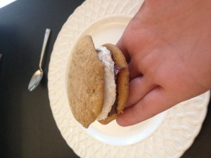 s'mores whoopie pies - 23