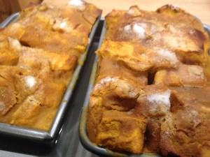 Pumpkin Bread Pudding - 12
